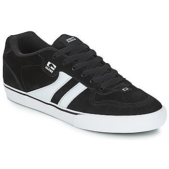 Sapatos Homem Sapatilhas Globe ENCORE 2 Preto / Branco