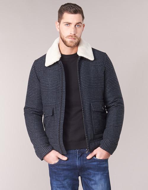 FADVIN  Sisley  casacos  homem  cinza