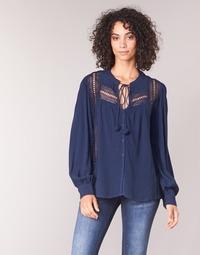 Textil Mulher Tops / Blusas See U Soon KERINCI Marinho