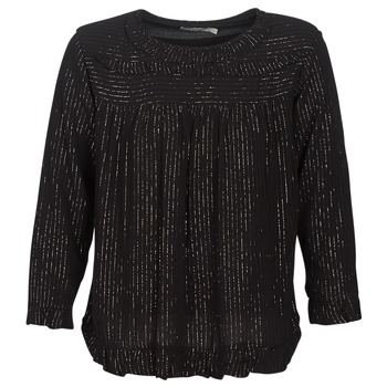Textil Mulher Tops / Blusas See U Soon IRAZU Preto / Ouro