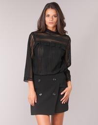 Textil Mulher Tops / Blusas See U Soon TELICA Preto