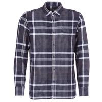 Textil Homem Camisas mangas comprida Oxbow CAMPO Marinho