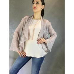 Textil Mulher Casacos  Kocca Casaco JOE Rosa
