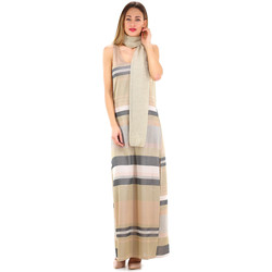 Textil Mulher Vestidos Kocca Vestido BETHDAE Bege