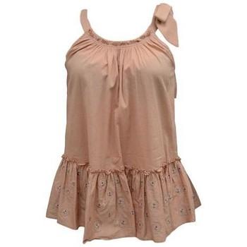 Textil Mulher Tops / Blusas Kocca Blusa DAKAE Rosa