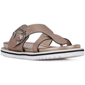 Sapatos Mulher Sandálias Elvio Zanon SANDALO CRACKEL Grigio