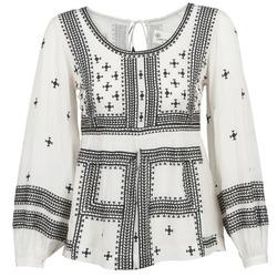 Textil Mulher Tops / Blusas Stella Forest ANTONETA Cru / Preto