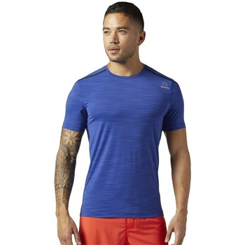 Textil Homem T-Shirt mangas curtas Reebok Sport Actvchl Tee Azul