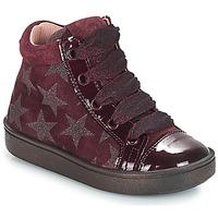 Sapatos Rapariga Sapatilhas de cano-alto Acebo's MASSA Bordô