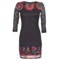 Textil Mulher Vestidos curtos Desigual DARINA Preto