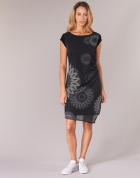Textil Mulher Vestidos curtos Desigual SANDRINI Preto