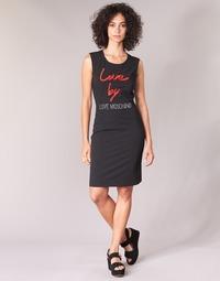 Textil Mulher Vestidos curtos Love Moschino CARININA Preto