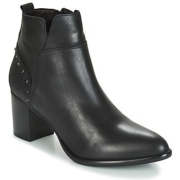 Sapatos Mulher Botins Regard RUSTANO V1 MAIA NOIR Preto