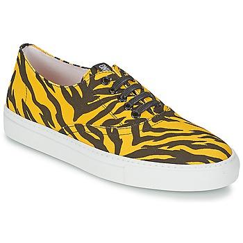 Sapatos Mulher Sapatilhas Moschino Cheap & CHIC LIBORIA Amarelo / Preto