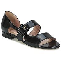 Sapatos Mulher Sandálias Moschino Cheap & CHIC LORETTA Preto