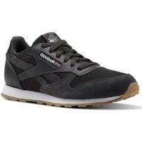 Sapatos Criança Sapatilhas Reebok Sport CL Leather Estl Preto