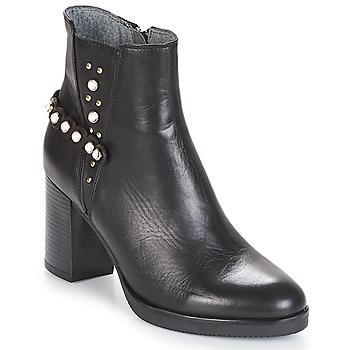 Sapatos Mulher Botins Metamorf'Ose DAMOISEAU Preto