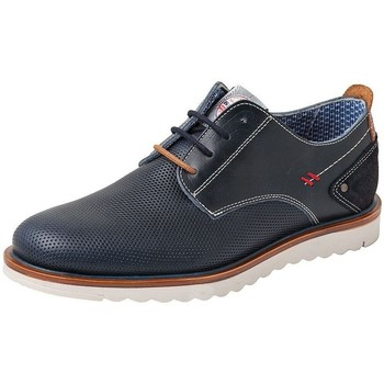 Sapatos Homem Sapatos urbanos Dj Santa Calzado de piel de hombre con cordones by Exodo (Baerchi) Azul