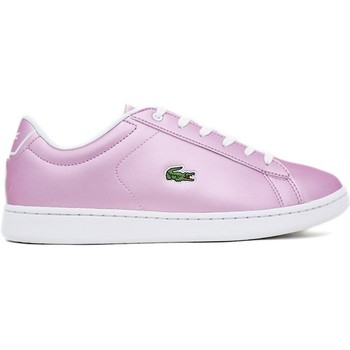 Sapatos Mulher Sapatilhas Lacoste CARNABY EVO 218 1 Rosa