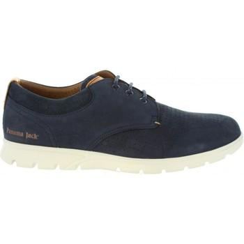 Sapatos Homem Sapatos & Richelieu Panama Jack DOMINIC C2 NOBUCK MARINO Azul