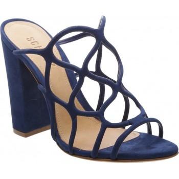 Sapatos Mulher Sandálias Schutz MULES Azul