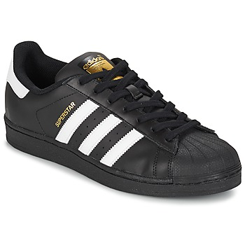 Sapatos Sapatilhas adidas Originals SUPERSTAR FOUNDATION Branco / Preto