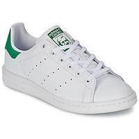 Sapatos Criança Sapatilhas adidas Originals STAN SMITH J Branco / Verde