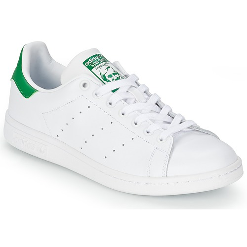 62a54a0ac adidas Originals STAN SMITH Branco / Verde - Entrega gratuita ...