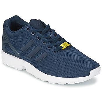 Sapatos Homem Sapatilhas adidas Originals ZX FLUX Azul / Branco