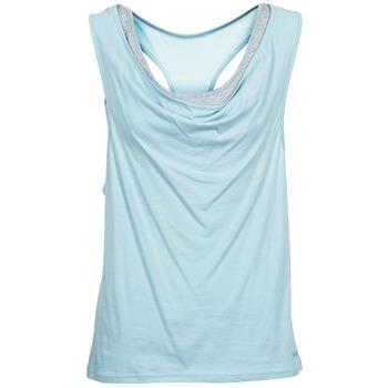 Textil Mulher Tops sem mangas Bench SKINNIE Azul