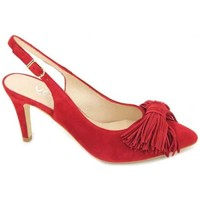 Sapatos Mulher Sandálias Estiletti 2284 Zapatos de Mujer Vermelho