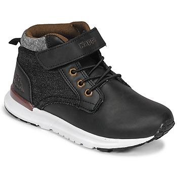Sapatos Rapaz Sapatilhas de cano-alto Kappa TELMO EV Preto
