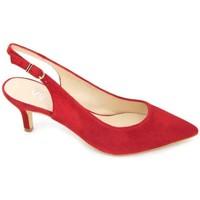 Sapatos Mulher Sandálias Estiletti 2345 Zapatos de Vestir de Mujer Vermelho