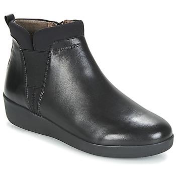 Sapatos Mulher Botas baixas Stonefly PASEO IV 5 NAPPA Preto