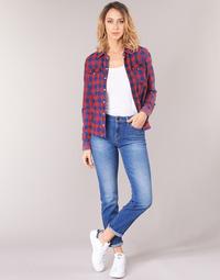 Textil Mulher Calças Jeans Lee ELLY Azul