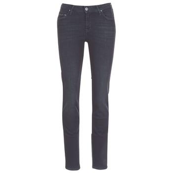Textil Mulher Calças Jeans Lee ELLY ZIP Preto