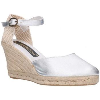Sapatos Homem Alpargatas Fernandez 682  7C    Plata (soleil) Mujer Plata Argenté