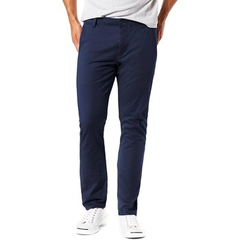 Textil Homem Chinos Dockers ALPHA 4 WAY STRETCH CHINO azul