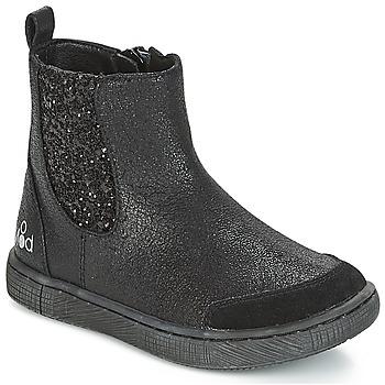 Sapatos Rapariga Botas baixas Mod'8 BLABLA Preto