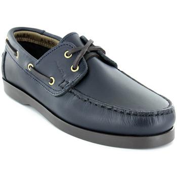 Sapatos Homem Sapato de vela Alex M Shoes Vellas Azul