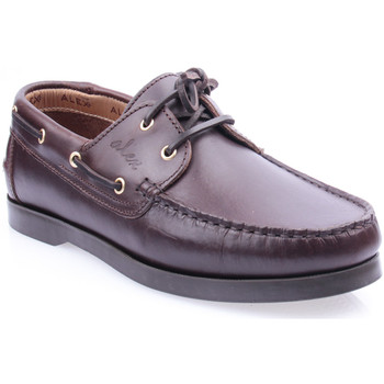 Sapatos Homem Sapatos Alex M Shoes Vellas Castanho