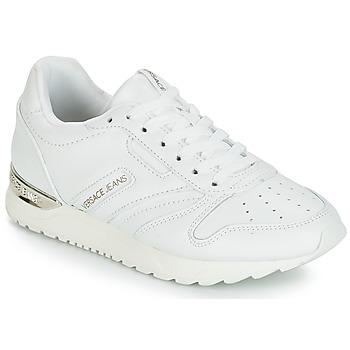 Sapatos Mulher Sapatilhas Versace Jeans Couture TAPADO Branco