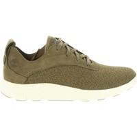 Sapatos Homem Sapatilhas Timberland A1SXN FLYROAM Verde