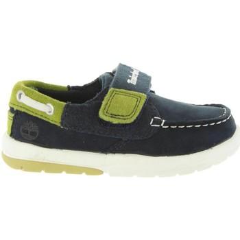 Sapatos Rapaz Sapato de vela Timberland A1BD7 TODDLE Azul