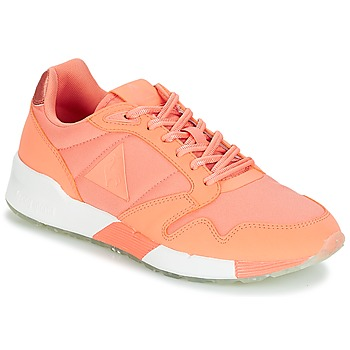 Sapatos Mulher Sapatilhas Le Coq Sportif OMEGA X W METALLIC Papaia / Punch