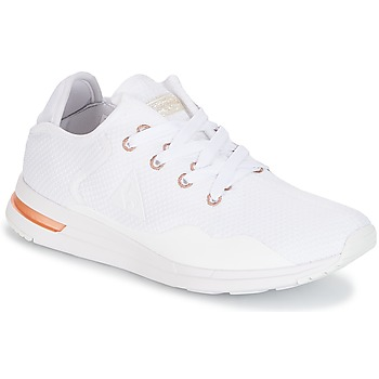 Sapatos Mulher Sapatilhas Le Coq Sportif SOLAS W SPARKLY/S LEATHER Branco