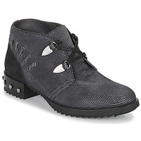 Sapatos Mulher Botas baixas Mam'Zelle XESTO Preto