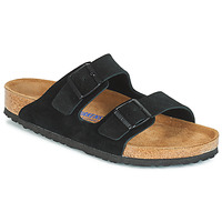 Sapatos Homem Chinelos Birkenstock ARIZONA SFB Preto