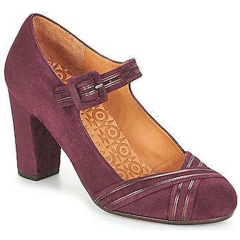 Sapatos Mulher Escarpim Chie Mihara  Bordô