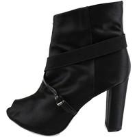 Sapatos Mulher Botins Manas AH922 Preto
